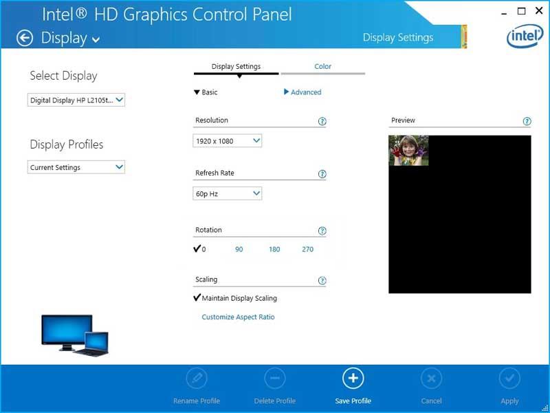 Using Intel Graphics
